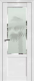 Фото -   Межкомнатная дверь 2.17STP, Pine White glossy   | фото в интерьере