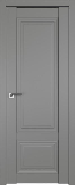 Фото -   Межкомнатная дверь 2.102U, грей   | фото в интерьере