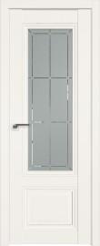 Фото -   Межкомнатная дверь 2.103U, Дарквайт, ст. гравировка 1   | фото в интерьере