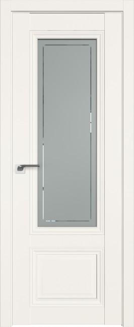 Фото -   Межкомнатная дверь 2.103U, Дарквайт, ст. гравировка 4   | фото в интерьере