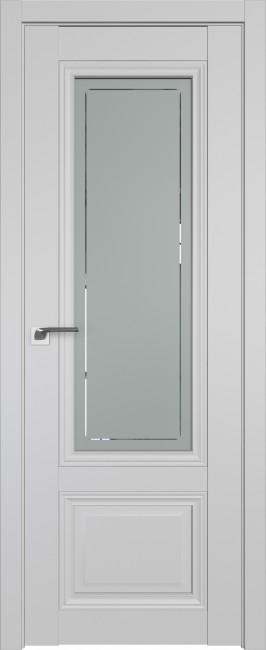 Фото -   Межкомнатная дверь 2.103U, Манхеттен, ст. гравировка 4   | фото в интерьере