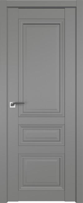 Фото -   Межкомнатная дверь 2.108U, грей   | фото в интерьере