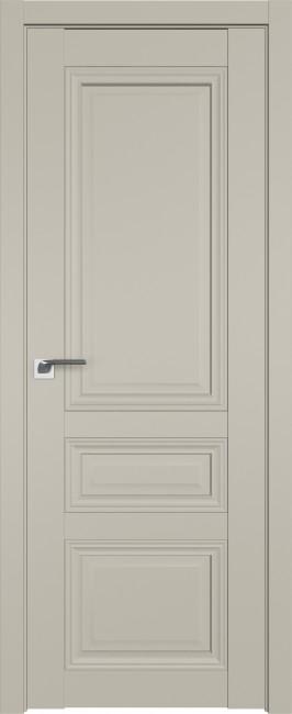Фото -   Межкомнатная дверь 2.108U, шелгрей     фото в интерьере
