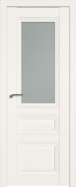 Фото -   Межкомнатная дверь 2.109U, дарквайт, ст. матовое   | фото в интерьере