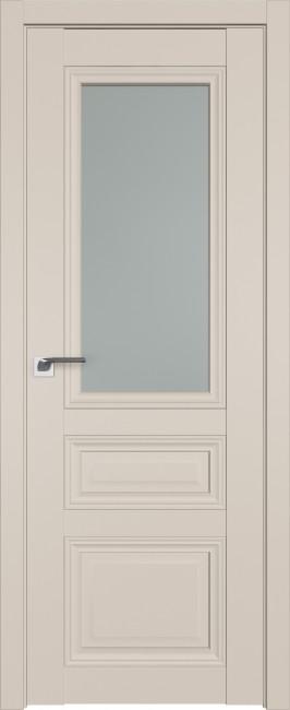 Фото -   Межкомнатная дверь 2.109U, санд, ст. матовое     фото в интерьере
