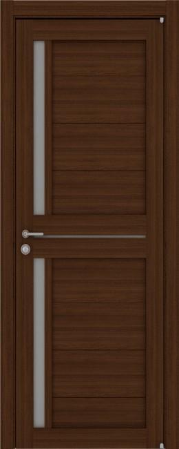 """Фото -   Межкомнатная дверь """"2121"""", по, орех вельвет     фото в интерьере"""