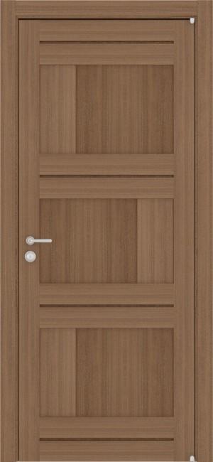 """Фото -   Межкомнатная дверь """"2180"""", пг, орех вельвет     фото в интерьере"""