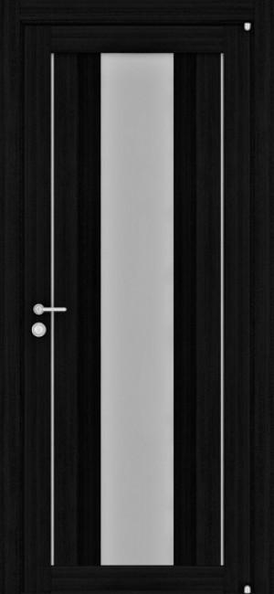 """Фото -   Межкомнатная дверь """"2191"""", по, шоко велюр     фото в интерьере"""