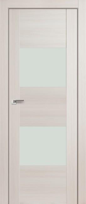 """Межкомнатная дверь """"21X"""", белый лак, эш вайт мелинга"""