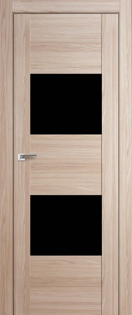 """Межкомнатная дверь """"21X"""", черный лак, капучино мелинга"""