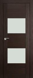 """Межкомнатная дверь """"21X"""", белый лак, венге мелинга"""