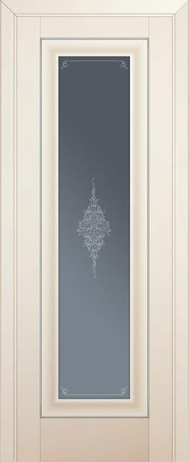 Фото -   Межкомнатная дверь 24U, магнолия сатинат     фото в интерьере