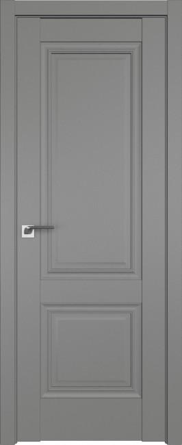 Фото -   Межкомнатная дверь 2.36U, Грей   | фото в интерьере