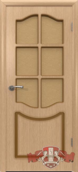 """Межкомнатная дверь """"Классика"""", по, дуб светлый"""