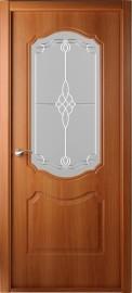 """Межкомнатная дверь """"Перфекта"""", по, рис.36, миланский орех"""