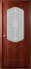 """Межкомнатная дверь """"Перфекта"""", по, рис.36, итальянский орех"""