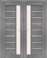 Фото -   Двойная распашная дверь Порта-27 Grey Veralinga     фото в интерьере
