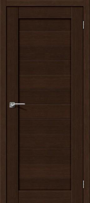 """Фото -   Межкомнатная дверь """"Порта-21"""", по, 3D Wenge     фото в интерьере"""