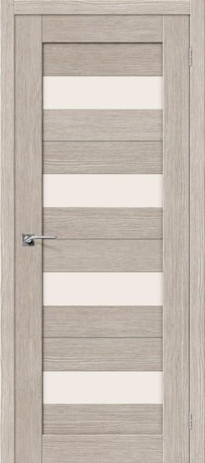 """Фото -   Межкомнатная дверь """"Порта-23"""", по, 3D Cappuccino     фото в интерьере"""