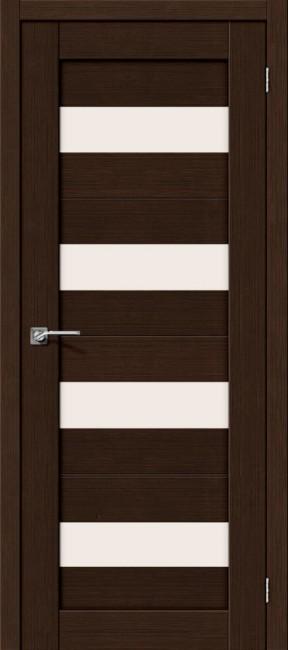 """Фото -   Межкомнатная дверь """"Порта-23"""", по, 3D Wenge     фото в интерьере"""