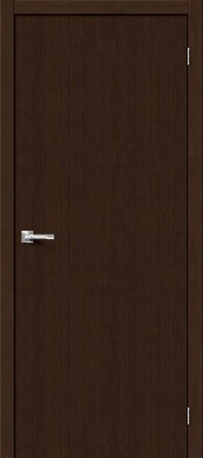 """Фото -   Межкомнатная дверь """"Тренд-0"""", пг, 3D Wenge     фото в интерьере"""