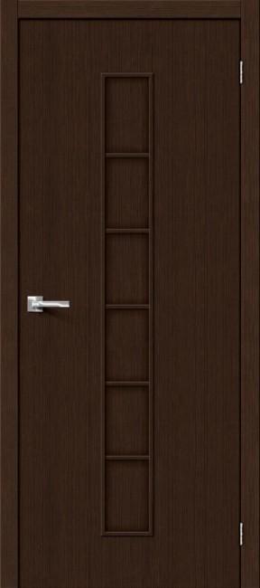 """Фото -   Межкомнатная дверь """"Тренд-11"""", пг, 3D Wenge     фото в интерьере"""
