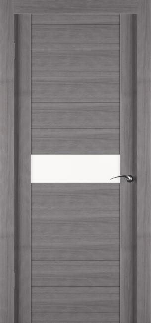Фото -   Межкомнатная дверь Zadoor ПО ECO 4 Грей   | фото в интерьере