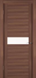 Фото -   Межкомнатная дверь Zadoor ПО ECO 4 Орех   | фото в интерьере