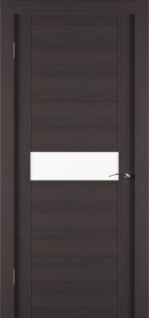 Фото -   Межкомнатная дверь Zadoor ПО ECO 4 Венге     фото в интерьере