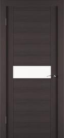 Фото -   Межкомнатная дверь Zadoor ПО ECO 4 Венге   | фото в интерьере
