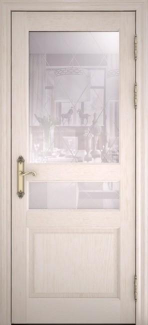 """Фото -   Межкомнатная дверь """"40006"""", по, ясень перламутр     фото в интерьере"""