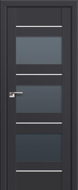 Фото -   Межкомнатная дверь 41U, антрацит     фото в интерьере