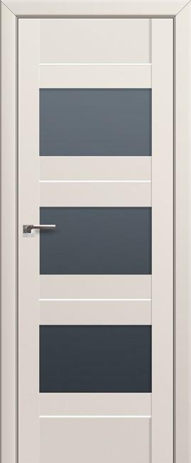 Фото -   Межкомнатная дверь 41U, магнолия сатинат   | фото в интерьере