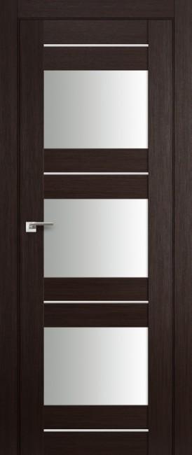 """Межкомнатная дверь """"41X"""", по, венге мелинга"""