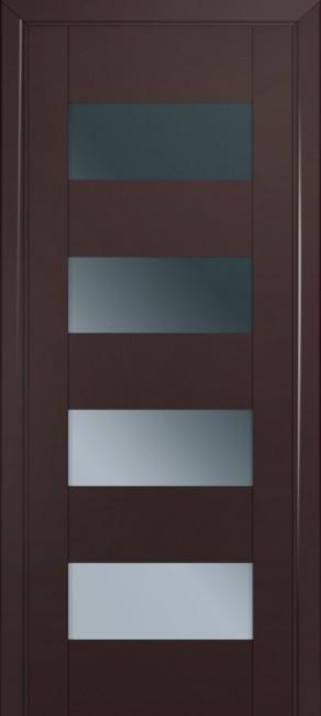 Фото -   Межкомнатная дверь 46U, темно-коричневый матовый     фото в интерьере