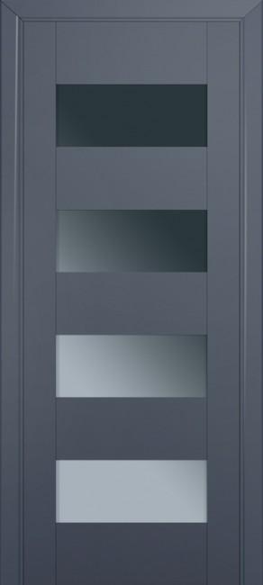 Межкомнатная дверь 46U, антрацит