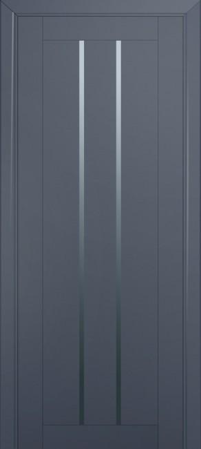 Межкомнатная дверь 49U, антрацит