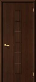 """Межкомнатная дверь """"Лесенка"""", пг, венге"""
