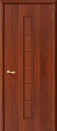 """Межкомнатная дверь """"Лесенка"""", пг, итальянский орех"""