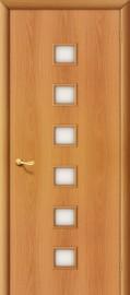 """Межкомнатная дверь """"Квадраты"""", по, миланский орех"""