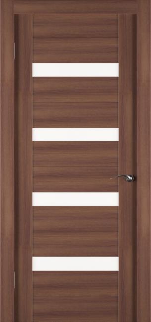 Фото -   Межкомнатная дверь Zadoor ПО ECO 5 Орех   | фото в интерьере