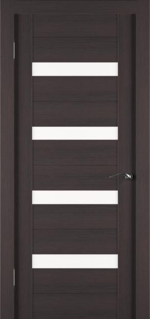 Фото -   Межкомнатная дверь Zadoor ПО ECO 5 Венге     фото в интерьере