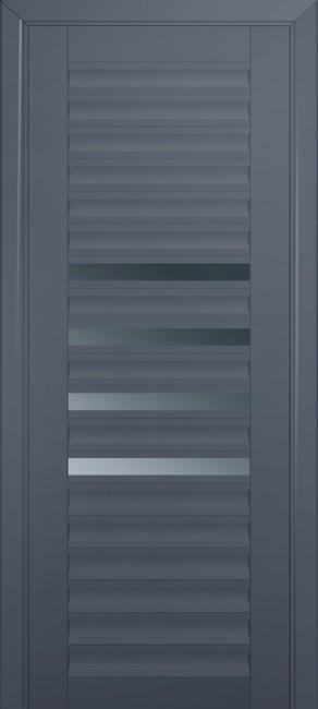 Межкомнатная дверь 55U, антрацит