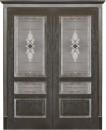 """Фото -   Межкомнатная дверь """"Вена"""", по, черная патина     фото в интерьере"""