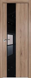 Фото -   Межкомнатная дверь 5ZN, салинас светлый, кромка Black Edition с 4х сторон, Eclipse   | фото в интерьере