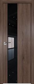 Фото -   Межкомнатная дверь 5ZN, салинас темный, кромка Black Edition с 4х сторон, Eclipse   | фото в интерьере