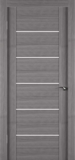 Фото -   Межкомнатная дверь Zadoor ПО ECO 6 Грей   | фото в интерьере