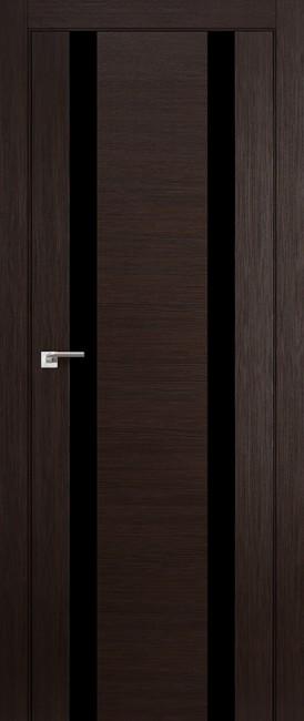 """Межкомнатная дверь """"63X"""", по, венге мелинга"""