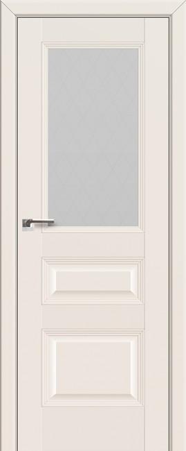 Межкомнатная дверь 67U, магнолия сатинат