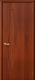"""Межкомнатная дверь """"Волна"""", пг, итальянский орех"""